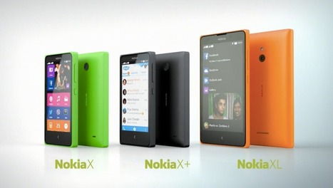 Nokia officially announces Android Smartphones Nokia X, X+ and XL at MWC 2014 | AndroidVenture | Scoop.it