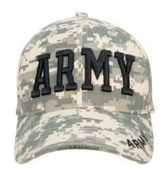 9488 Army Digital Camo Army Insignia Cap | Military Surplus Center | Scoop.it
