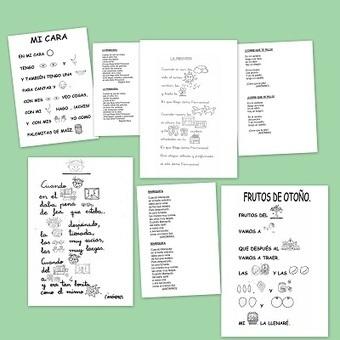 Poesías infantiles con pictogramas - Escuela en la nube | Las TIC y la Educación | Scoop.it