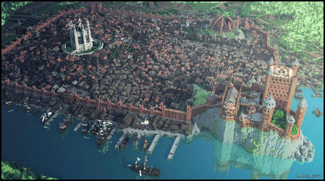 How Fans Recreated Game of Thrones in a Minecraft Map the Size of LA | Underwire | Wired.com | Computer games in Classrooms | Scoop.it