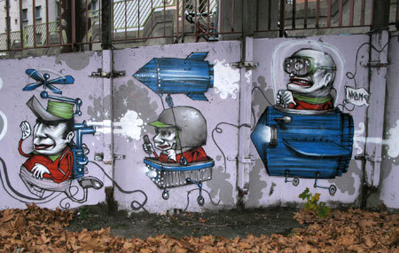 Nikodem | Painter - Illustrator - Street Artist | les Artistes du Web | Scoop.it