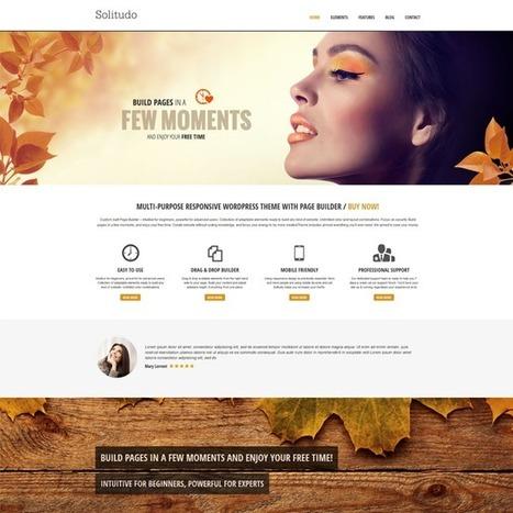 Solitudo WordPress Theme | WordPress Theme Download | Best WordPress Themes 2013 | Scoop.it