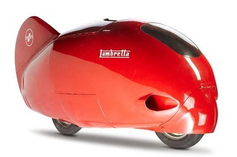 The record-breaking Lambretta Record   Art, Design & Technology   Scoop.it