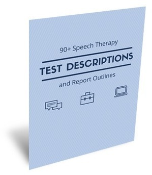 90+ Speech Therapy Test Descriptions At Your Fingertips | Phonological Awareness and Rapid Naming | Scoop.it