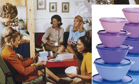 Did Tupperware invent social networking? Fifties parties were the first Facebook, claim the plastic container company | Tupperware | Scoop.it