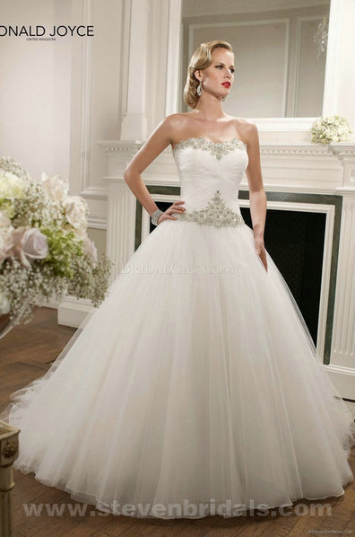 Only Price - $337.00 bridal gown - Style Ronald Joyce 67072 floor length Strapless sleeveless For sale | Maggie-Sottero 2013 | Scoop.it