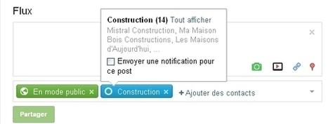 [astuce] Google + : notifier à un cercle de la publication d'un post | toute l'info sur Google | Scoop.it