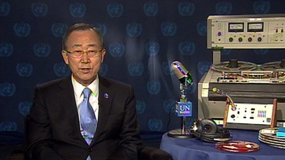 Ban Ki-moon, World Radio Day, 13 February 2013 | UN  Live Web TV | Radio Hacktive (Fr-Es-En) | Scoop.it