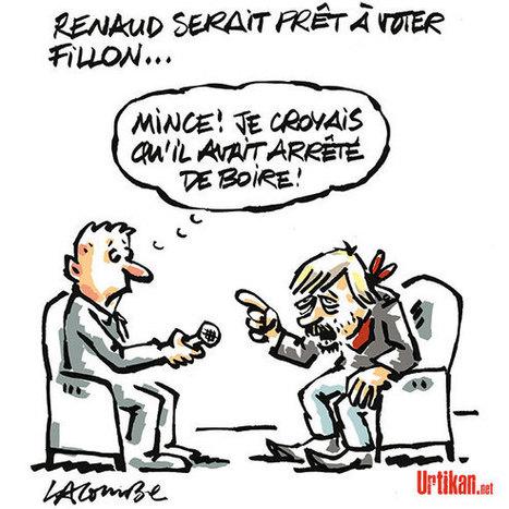 «Insoutenable suspense» autour du vote de Renaud en 2017 | Dessinateurs de presse | Scoop.it
