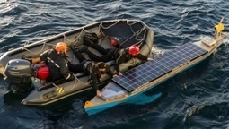 Canadian Navy rescues defunct, unmanned solar-powered kayak | Nova Scotia Fishing | Scoop.it