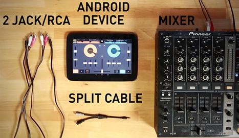 Android's Cross DJ 1.2: External Mixing | DJing | Scoop.it
