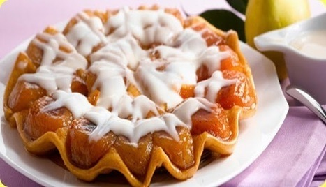 Tarte tatin di pere con certosa e miele. | Italian Food & Wine | Scoop.it