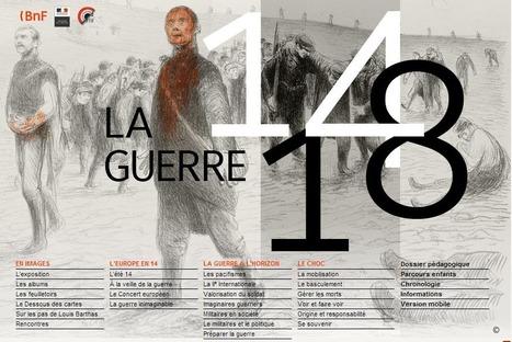BNF - LA GUERRE DE 14-18 | Vu sur internet | Scoop.it