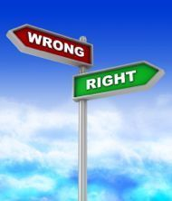 "» Do ""Right"" and ""Wrong"" Exist? - Relationships in Balance 