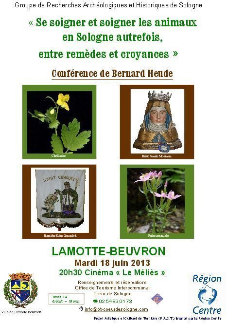 Se soigner et soigner les animaux en Sologne autrefois, entre remèdes et croyances   Autour de Nouan-le-Fuzelier   Scoop.it