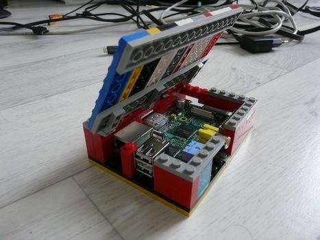 Construisez votre boîtier pour le Raspberry Pi en LEGO | Soho et e-House : Vie numérique familiale | Scoop.it