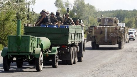 Europe - L'Otan met en garde contre uneinvasion russe dans l'est de l'Ukraine   Wedge Issue   Scoop.it