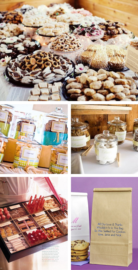 Wedding  Cookie Buffets - My Wedding Reception Ideas | Blog | Candy Buffet Weddings, Events, Food Station Buffets and Tea Parties | Scoop.it