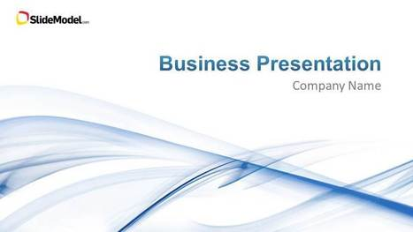 Light Business PowerPoint Template - SlideModel | Business | Scoop.it