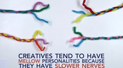 11 Surprising Facts About Creativity [VIDEO] | Artdictive Habits : Sustainable Lifestyle | Scoop.it