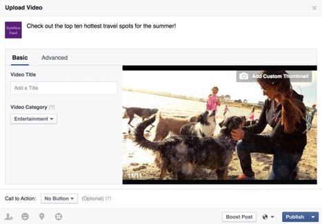 Facebook Introduit les Vidéos Secrètes et des Outils pour Gérer les Vidéos | Going social | Scoop.it