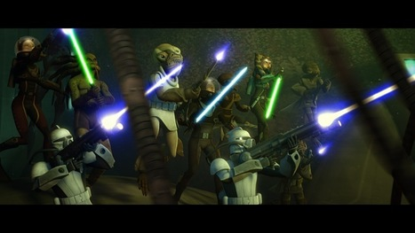 Clone Wars Baptizes New Season With Underwater Battles | Transmedia: Storytelling for the Digital Age | Scoop.it