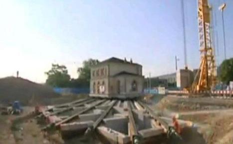 Suisse: Une gare de 700 tonnes déplacée sur plus de 30 mètres | Dans l'actu | Doc' ESTP | Scoop.it