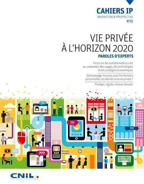 CNIL - Cahiers IP n°1 - Vie privée à l'horizon 2020 | Réseaux sociaux et usages pédagogiques | Scoop.it