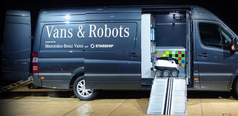 Mercedes 'Mothership' Will Transport Robot Workers To Deliver Packages   Sci-Tech Today   I Need Work   Scoop.it