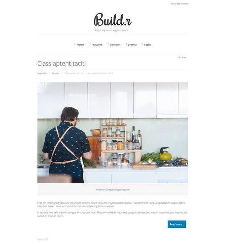 Build.r Joomla 3.x Starter Theme & SEO Optimized | Premium Joomla Templates | Scoop.it