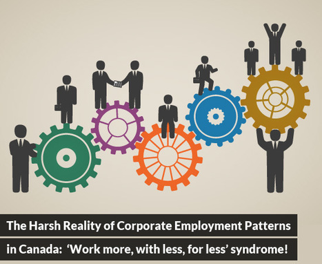 The Harsh Reality of Corporate Employment Patterns in Canada: 'Work more, with less, for less' syndrome! | Best Franchise Opportunities Canada | Scoop.it