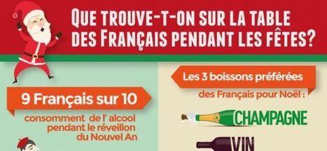 Que trouve-t-on sur la table des Français pendant les fêtes ? | Froggie pages | Scoop.it