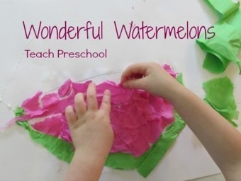 Wonderful watermelons | Early Childhood Education | Scoop.it