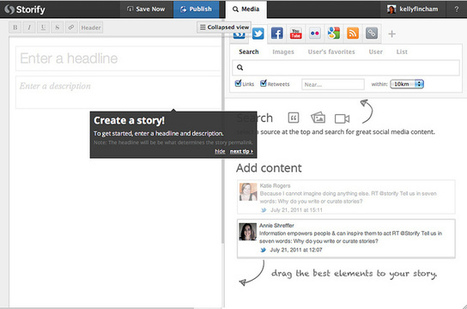 Using Storify for journalism education | Social Media and Journalists | Scoop.it