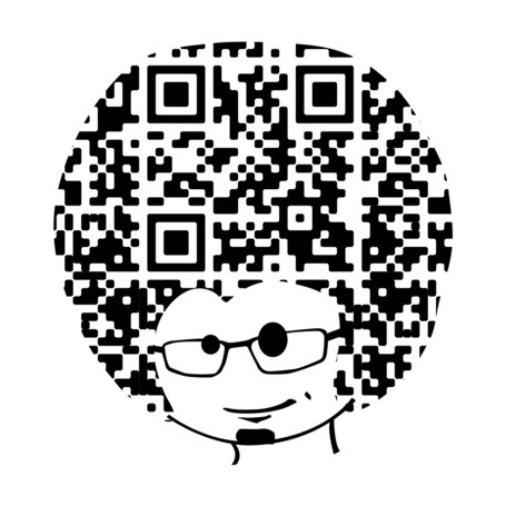 Very Fun Business QR Card | artcode | Scoop.it
