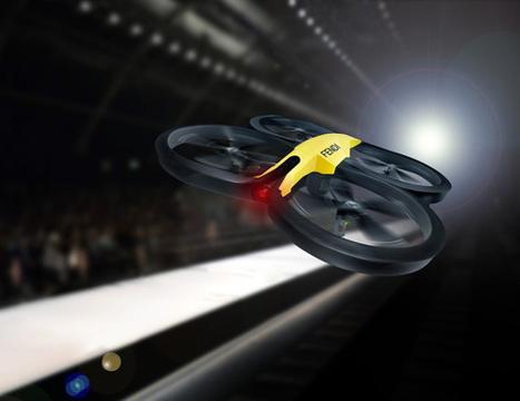 Sfilate Milano Moda Donna Febbraio 2014: Fendi sfila sul web, le riprese aeree con droni volanti   Astound! Fashion marketing & communication   Scoop.it