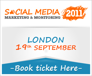 Social Media Marketing & Monitoring 2011 London 19th Sept - Pressitt SMNR | All in one - Social Media ROI | Scoop.it