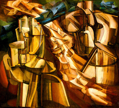 Marcel Duchamp met la peinture à l'épreuve | Mon moleskine | Scoop.it