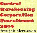 Central Warehousing Corporation Recruitment 2014 cewacor.nic.in CWC Warehouse Asst Gr-II freejobalert | FREEJOBALERT | Scoop.it