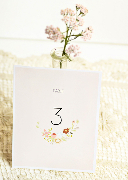 Free Printable Table Numbers | Crafts for all ocassions | Scoop.it