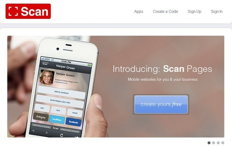 Scan-Create mobile content-Create QR-Code | Educational technology | Scoop.it
