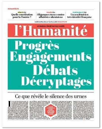 Pour ses 110 ans le #quotidien L'#Huma se réinvente en #kiosque et sur le #Web | Communication Digital x Media | Scoop.it