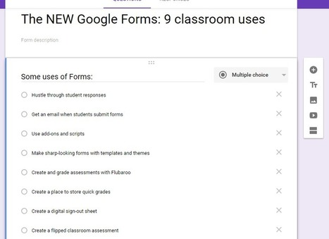 The NEW Google Forms: 9 classroom uses | Using Google Drive in the classroom | Scoop.it