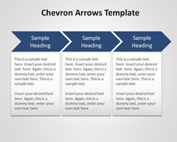 Free Chevron Arrows Template for PowerPoint | Presentations | Scoop.it