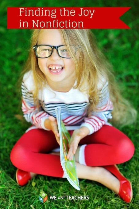 WeAreTeachers: Nonfiction Shouldn't Be Boring! 8 Ways to Boost the Joy | Reading and Writing in primary school | Scoop.it