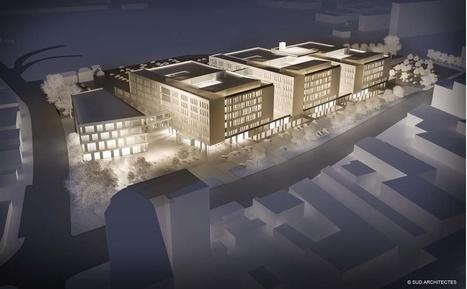 Un nouveau pôle hospitalier à Villeurbanne . Mandataire: ARTELIA | Ing_Building | Scoop.it