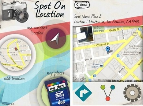Keep Track of Great Photo Shoot Locations with 'Spot On Location' App for iPhone | DSLR video and Photography | Scoop.it
