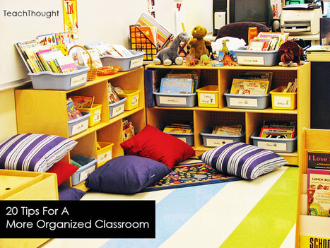 20 Tips For A More Organized Classroom | Banco de Aulas | Scoop.it