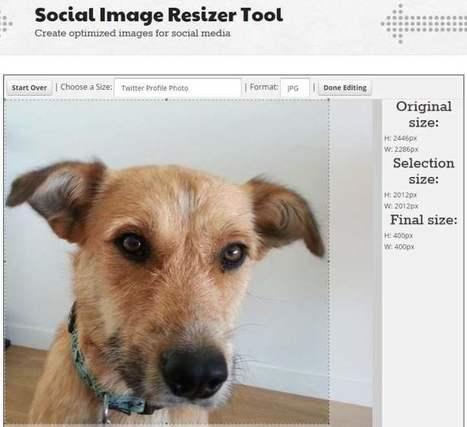 Un outil pour optimiser ses images sur les réseaux sociaux, Favicon Generator | Le Top des Applications Web et Logiciels Gratuits | Scoop.it