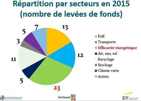 Baromètre : 604 M€ investis par les fonds dans les cleantech en France en 2015 | Crowdfunding, Crowdsourcing and Renewable Energy Overview | Scoop.it